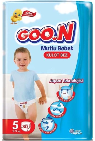 Goon Mutlu Bebek Külot Bez 5 Beden Jumbo Paket 30 Adet