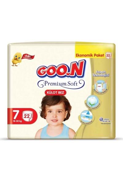 Goon Premium Soft Külot Bez 7 Beden Ekonomik Paket 22 Adet
