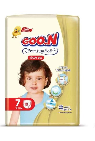 Goon Premium Soft Külot Bez 7 Beden İkiz Paket 10 Adet