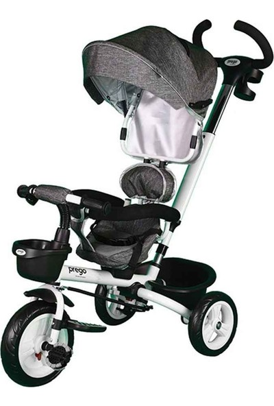Prego Happy Dino Çocuk Bisikleti - Gri