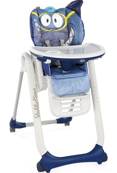 Chicco Polly 2 Start Mama Sandalyesi - Köpekbalığı