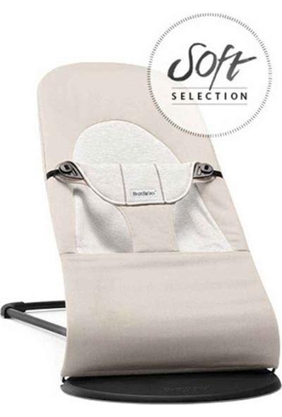 Babybjörn Balance Soft Ana Kucağı Beige / Grey Cotton Jarsey