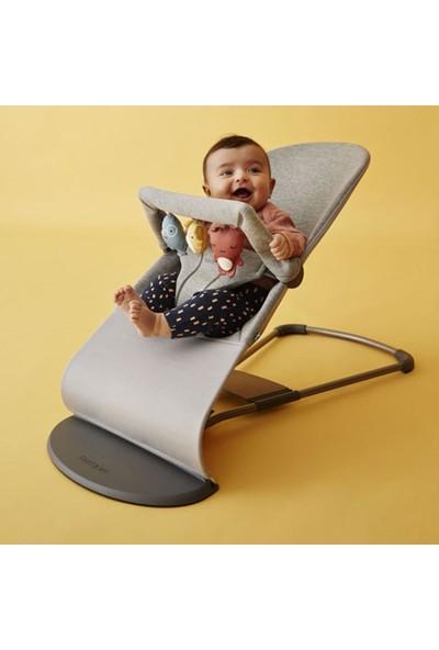 Babybjörn Bliss Ana Kucağı Oyuncaklı Light Grey 3D Jerse