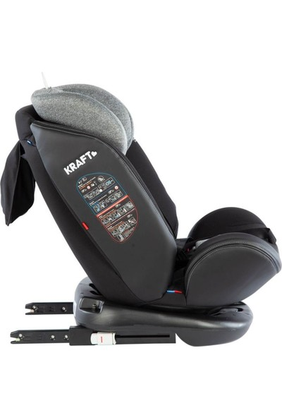 Kraft Spin Signal 0-36 kg 360 ° Dönebilen İsofix'li Oto Koltuğu