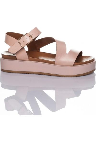 Adin 112003 Kadın Deri Sandalet