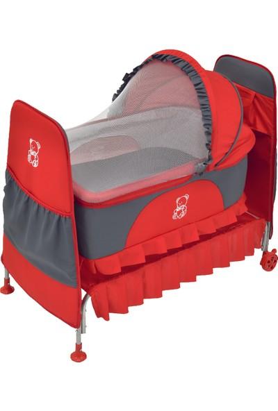 Happy Baby Eko Toy Beşik Füme - Kırmızı