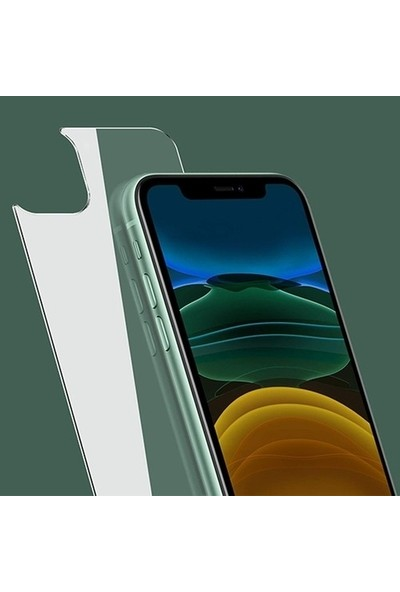 Dafoni Apple iPhone 11 Slim Triple Shield Arka Koruyucu