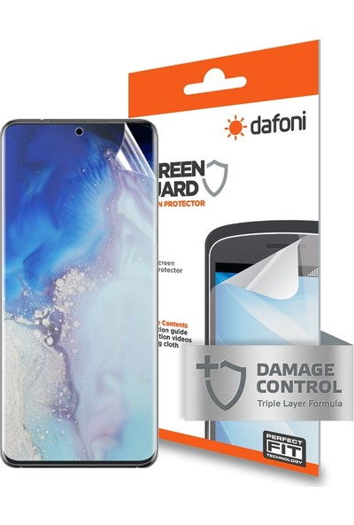 Dafoni Samsung Galaxy S20 Darbe Emici Ekran Koruyucu