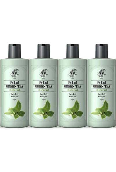Rebul Green Tea Duş Jeli 500 ml x 4 Adet