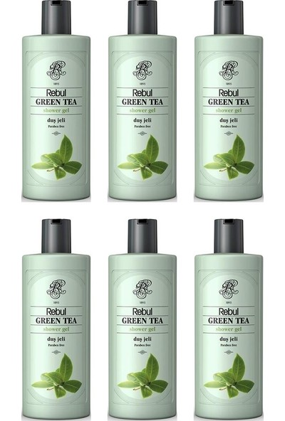 Rebul Green Tea Duş Jeli 500 ml x 6 Adet
