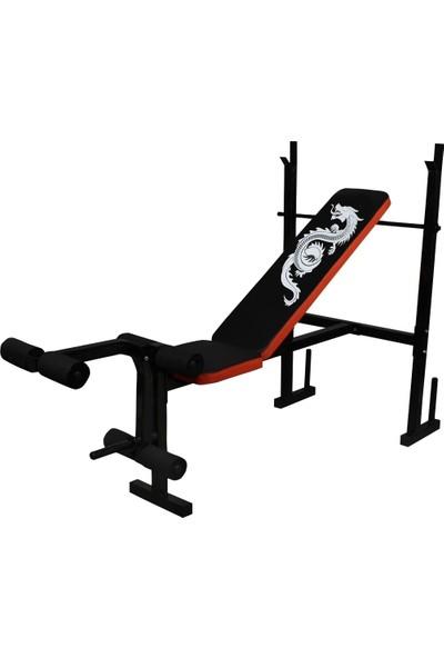 Sportif 3 Kademeli Ayarlanabilir Bench Ağırlık Sehpası