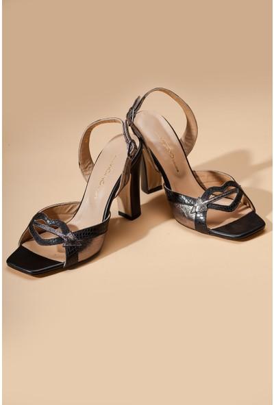 Adin 18032 Kadın Deri Ayakkabı