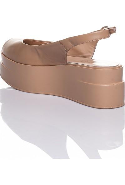 Adin 425 Kadın Deri Sandalet