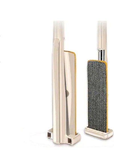 İkra Home Spin Mop Mikrofiber Kendinden Sıkmalı Tablet Mop Paspas Kovasız