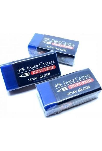 Faber-Castell Sınav Silgi 4'lü Mavi