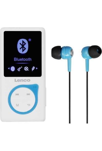 Lenco XEMIO-668 8gb Micro Sd Kartlı Media Player Mp4 Çalar Mavi