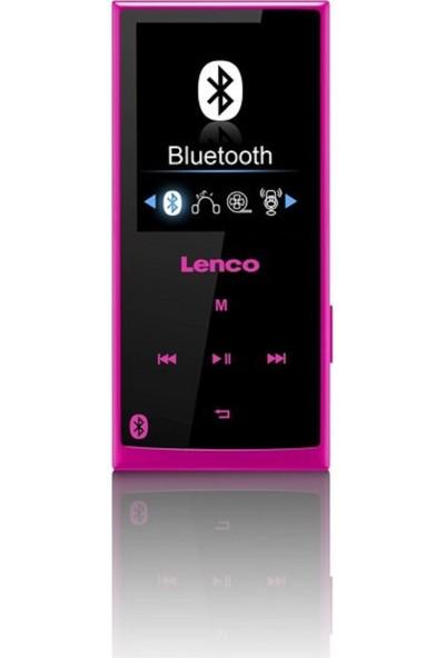 Lenco XEMIO-760 8GB Bluetooth MP3 Çalar Pembe