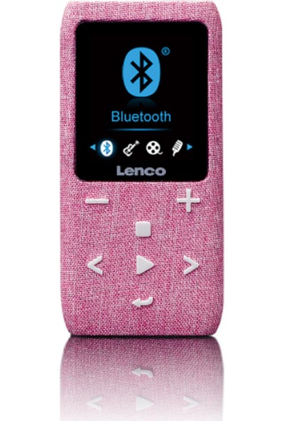 Lenco XEMIO861 8GB BT USB SD Kart Mediaplayer MP4 Çalar Pembe