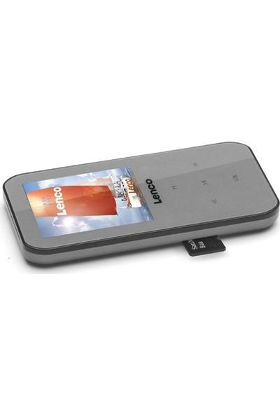 Lenco XEMIO-655 4GB Media Player MP4 Çalar Gri