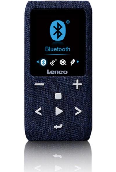 Lenco XEMIO861 8GB BT USB SD Kart Mediaplayer MP4 Çalar Mavi