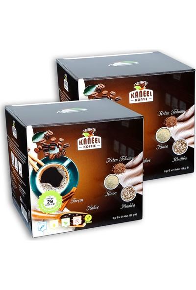 Kaneel Koffie 336 gr x 2 Kutu
