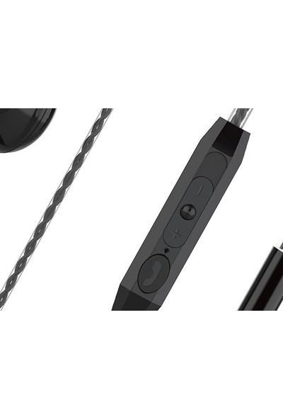 Snopy SN-X24 Siyah Kulak İçi Mikrofonlu Kulaklık