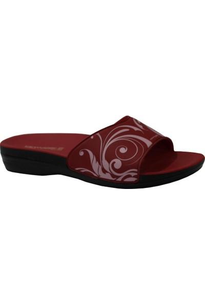Ceyo Marina-7 Kırmızı Ortapedik Kadın Terlik & Sandalet 37