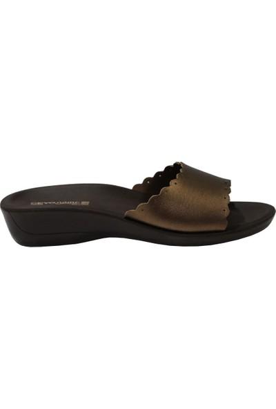 Ceyo Siena-11 Bakır Ortapedik Kadın Terlik & Sandalet 38