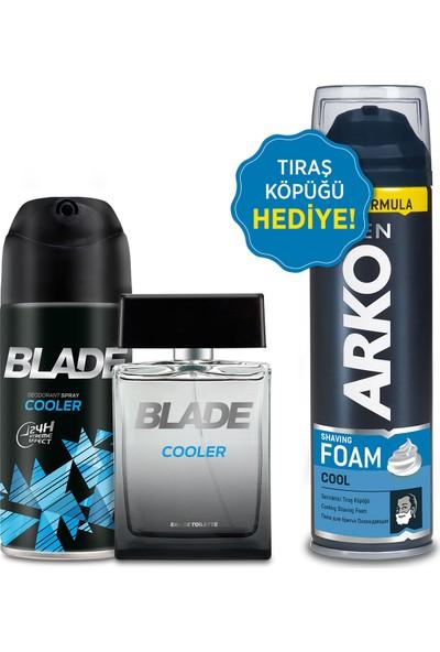 Blade Cooler Erkek Edt Parfüm 100ML & 150ML Deodorant Arko Men 200ML Tıraş Köpüğü Hediye