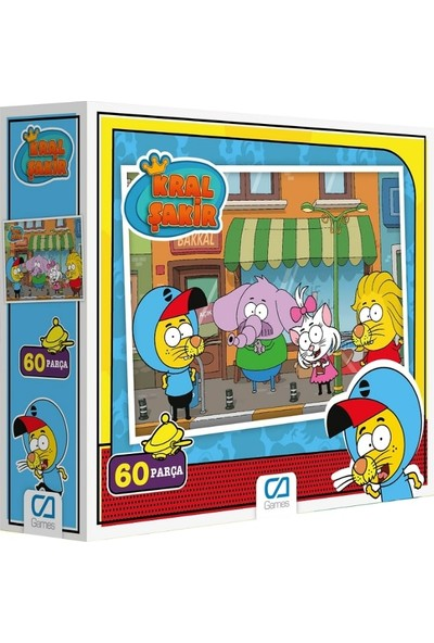Ca Games Kral Şakir 60 Puzzle