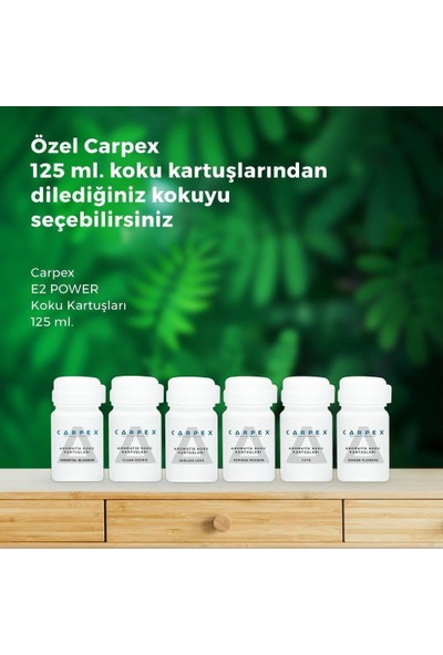 Carpex E2 Power Koku Makinesi Aromatik Koku Kartuşu Cute 125 ml