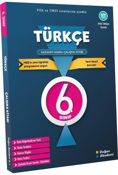 Doğan Akademi̇ 6. Sınıf Türkçe Kazanım Odaklı Çalışma Kitabı