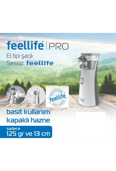 Feel Life Air Pro Yonker Buhar Makinesi