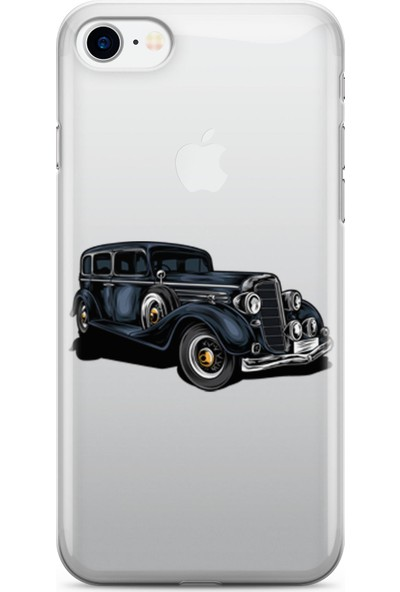 Pirigami Apple iPhone 7 Kılıf Arabalar Serisi Koruyucu Silikon