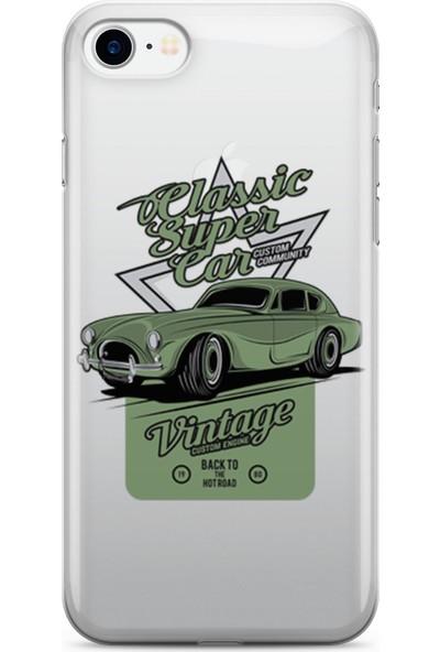Pirigami Apple iPhone 8 Kılıf Arabalar Serisi Koruyucu Silikon