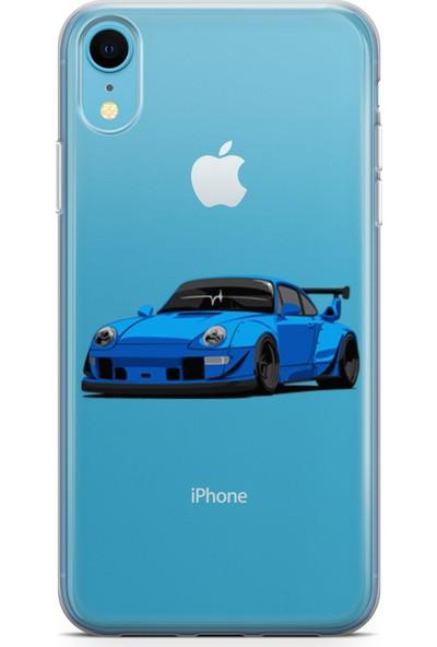 Pirigami Apple iPhone XR Kılıf Arabalar Serisi Koruyucu Silikon