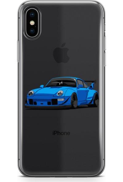 Pirigami Apple iPhone XS Max Kılıf Arabalar Serisi Koruyucu Silikon