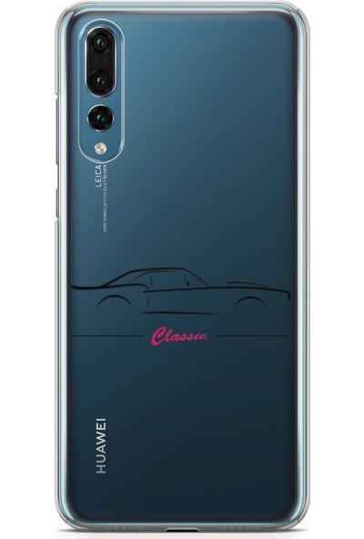 Pirigami Huawei P20 Pro Kılıf Arabalar Serisi Koruyucu Silikon
