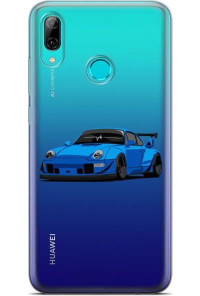 Pirigami Huawei Y7 2019 Kılıf Arabalar Serisi Koruyucu Silikon