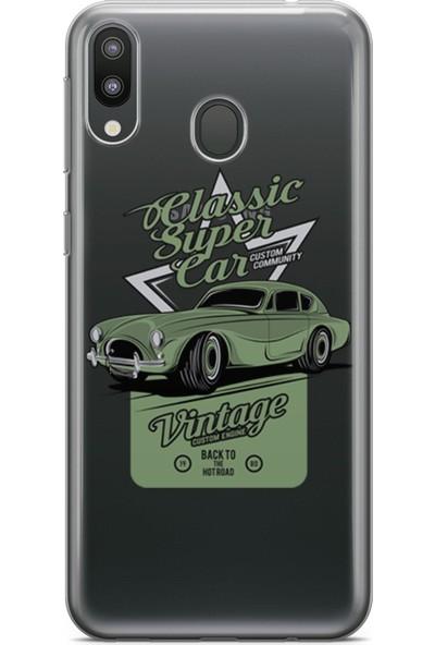 Pirigami Samsung Galaxy M20 Kılıf Arabalar Serisi Koruyucu Silikon