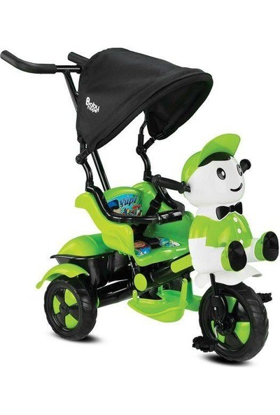 Babyhope 125 Yupi 3 Tekerlekli İtmeli Bisiklet