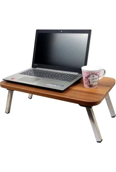 Trend Kuşak Laptop Sehpası Çalışma Masası Katlanır Ayaklı 40 x 60 cm