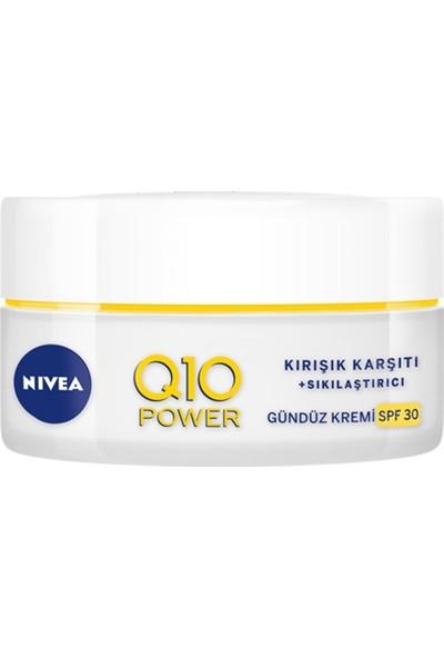 Nivea Q10 Anti-Aging Kırışıklık Karşıtı ve Leke Giderici Yüksek Güneş Korumalı Gündüz Kremi 50ML