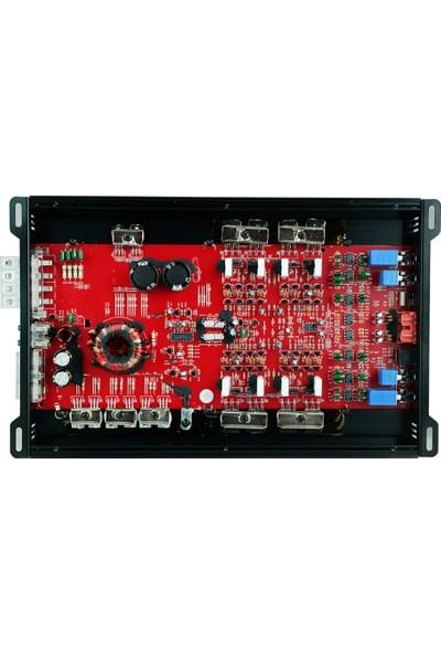 Soundmax SX-3200.4AB 4 Kanal 4000W Amfi Bas Kontrol Aparatlı 4