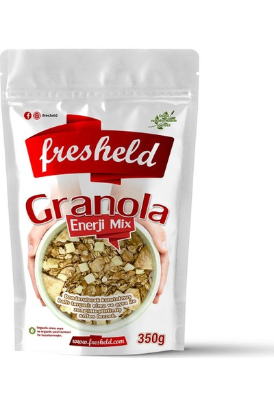 Fresheld Granola Enerji Mix 350 gr