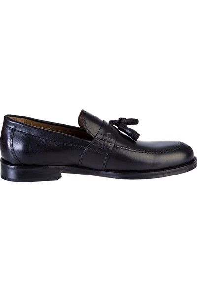 Kiğılı Erkek Püsküllü Klasik Deri Ayakkabı