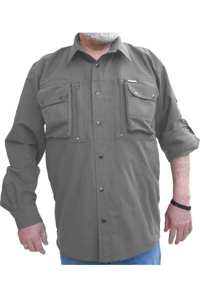 Horizon Av 211 Fermuarlı File Cepli Gömlek - Av Gömleği-11