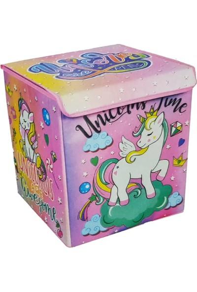 Gokidy Katlanabilen Unicorn Oyuncak Kutusu 33 x 38 x 40 cm