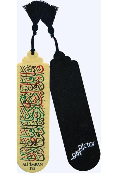 Pictor Gift Metal Püsküllü Islam Ayet Sure Dua Kitap Ayracı Seti 4'lü