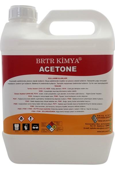 Brtr Kimya Aseton 5 Lt Temizlik Solventi Ve İnceltici